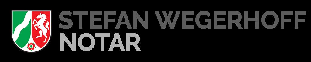Notar Stefan Wegerhoff Logo